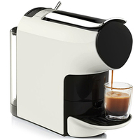 Scishare 1200 w 19 bar inteligente máquina de café 9 nível concentração cápsula espreset com 40 cápsulas de café 580ml|Peças p/ aparelho de cuidados pessoais| |  -