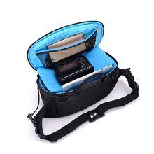 лучшая цена Waterproof w/ Rain Cover storage bag multi-function outdoor SLR camera bag shoulder diagonal digital camera bag for Canon Sony