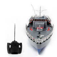 50cm 1:115 RC Boat Toys Remote Control Warship ​Military ​Model Boat Toy for Army Fans Present Gift US Plug