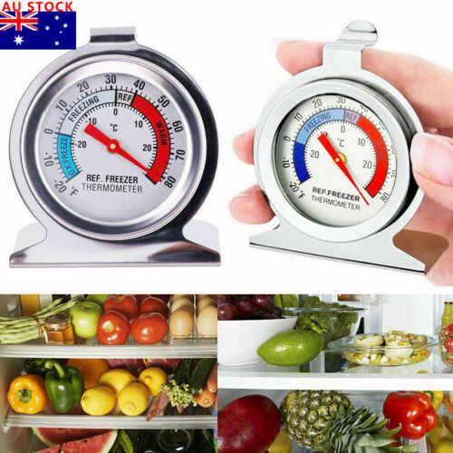 1 шт. термометр из нержавеющей стали с циферблатом для холодильника бытовые