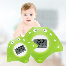 Floating Water Thermometer Backlight Alarm Color-changed Bath Toy Swimming Pool Infant Tub Digital