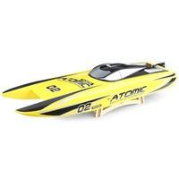 Новые RC лодки игрушки 65 км/ч высокая скорость 2 Modes2.4GHz 2CH 300 м дистанционное управление расстояние и долгое время игры сильная сила детская иг