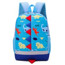 3D Anti-humpback Children Backpack For Boys Girls Kids Kindergarten Schoolbag Bag Small Class Fashion School Bags Cute Boy