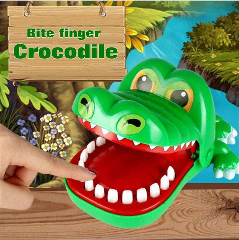 Bite Finger Crocodile Board Game Crazy Crocodile Pulling Teeth Kids Puzzle Toy Bar Family Party Game Xmas Children Best Gift
