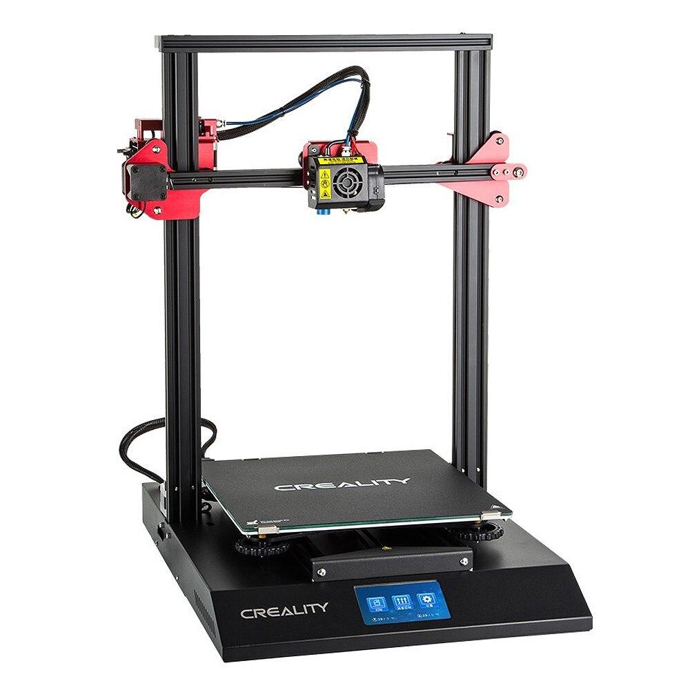 CR-10S Pro 3D Imprimante Kit 300*300*400mm Taille D'impression Coloré LCD Reprendre Impression Filament DIY 3D imprimante