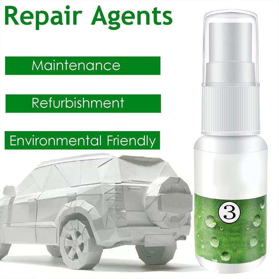 Spot Rust & Tar Spot Remover Liquid Skin Detergent Hgkj-3 Automobile Plastic Parts Refurbishing Agent Trim Leather Maintenance Cleaner Leather Repair