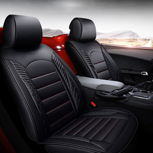 ( Front + Rear ) Special Leather car seat covers For vw passat polo golf auto accessorie styling