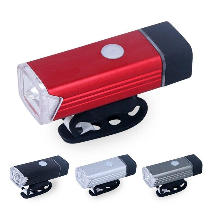 Lampe de poche LED rechargeable avant vélo lumière vélo phare USB lampe de charge torche étanche pour la nuit en plein air