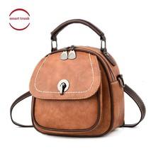 2019 Handbag Shoulder Bag Female Leather Flap Women Messenger Bags Small Lock Bolsa Feminina New Crossbody Bags For Women цена