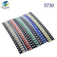 US $0.99 6% OFF|100pcs=5colors x 20pcs 5730/5050 /1210 /1206 /0805 /0603 LED Diode Assortment SMD LED Diode Kit Green RED White Blue Yellow 5630-in Diodes from Electronic Components & Supplies on Aliexpress.com | Alibaba Group