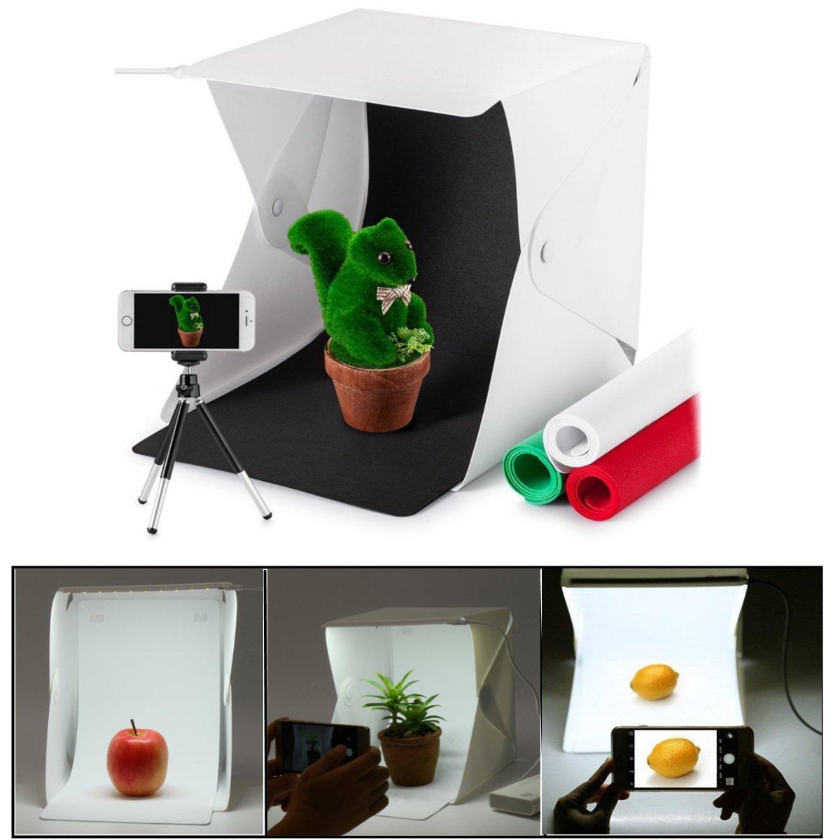 Light Room Mini Photo Studio Photography Lighting Tent Kit Backdrop Cube Box Stu