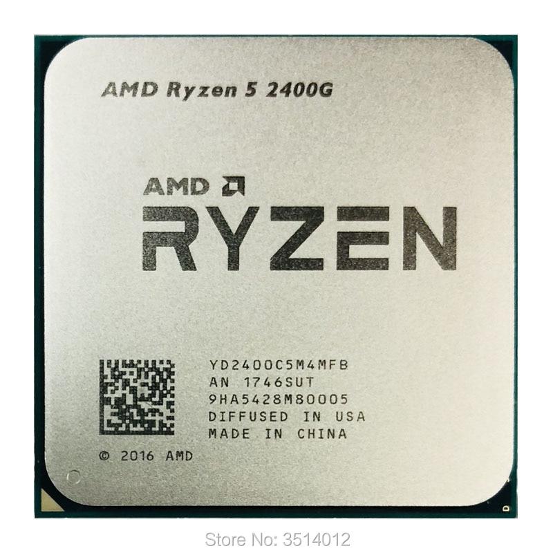 AMD Ryzen 5 2400G R5 2400G 3 6 GHz Quad Core CPU Processor