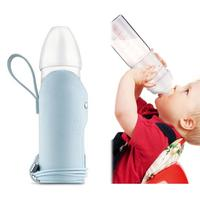 3 in 1 Baby Bottle Warmer USB Smart Constant Warm Milk Bottle Dry And Wet Separation Knob Type Milk Powder Box Infant Feeding