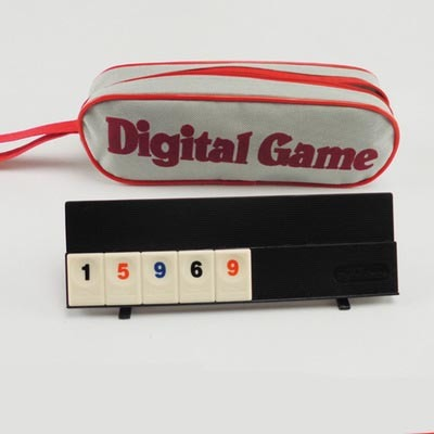106 Tiles Family Traveling Portable Rummikub Israel Mahjong Digital Board Game Logical Party Intelligence Toy For Kids in Party Games from Toys Hobbies