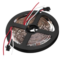 5M WS2812B IC SMD5050 Non waterproof RGB LED Strip Light Individual Addressable Rope Lamp DC 5V 36W For TV