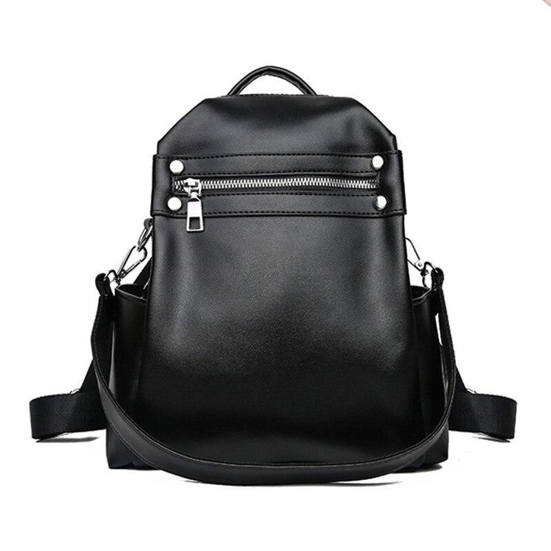 230d90e4b97b Kisstyle женский кожаный рюкзак повседневные школьные сумки для  девочек-подростков большой емкости модный опрятный женский рюкзак дорожные  су.