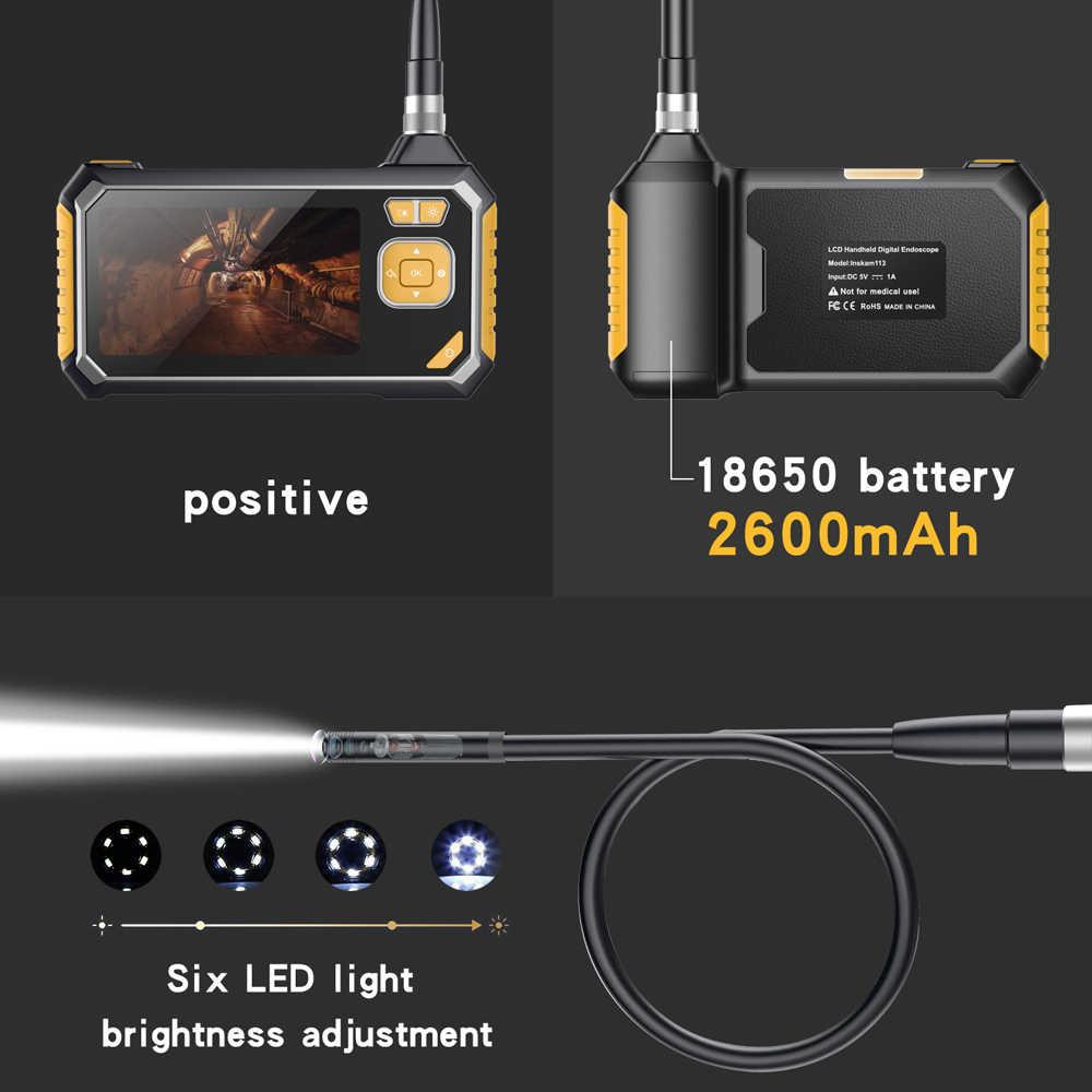 Inskam113 4,3 дюймовый ЖК-цветной экран 1 м 5 м 10 м портативный эндоскоп промышленные домашние Эндоскопы с 6 светодиодами