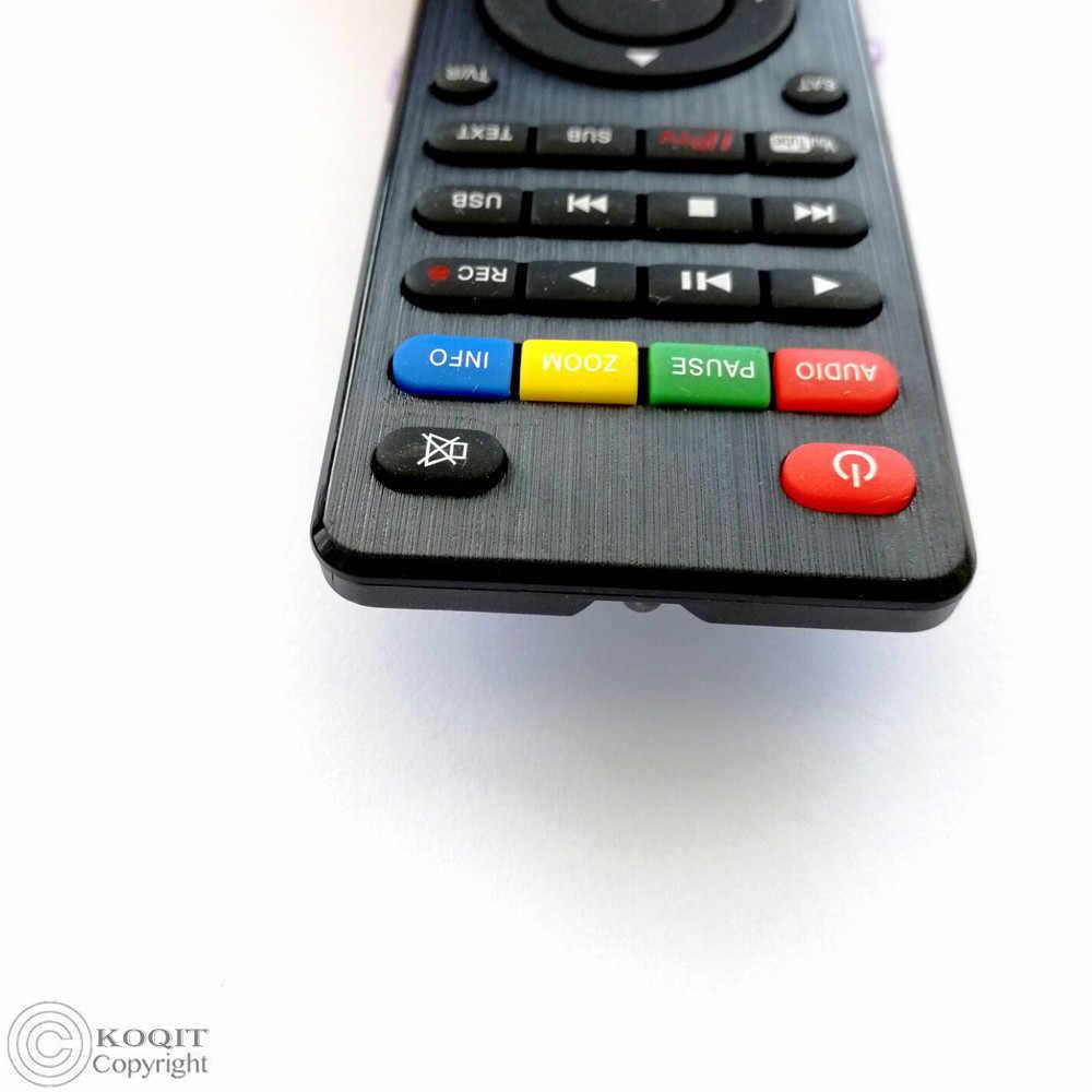 Télécommande supplémentaire pour skysat s2020 Skysat V20 DVB-S2 récepteur Satellite amérique du sud tv box Europe espagne récepteur ACM