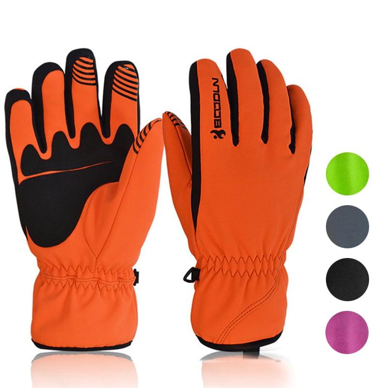Men Winter Warm Sports Gloves Women Men Ski Gloves Touch Screen Snow Mitten Waterproof Motorcycle Riding Snowboard Ski Gloves