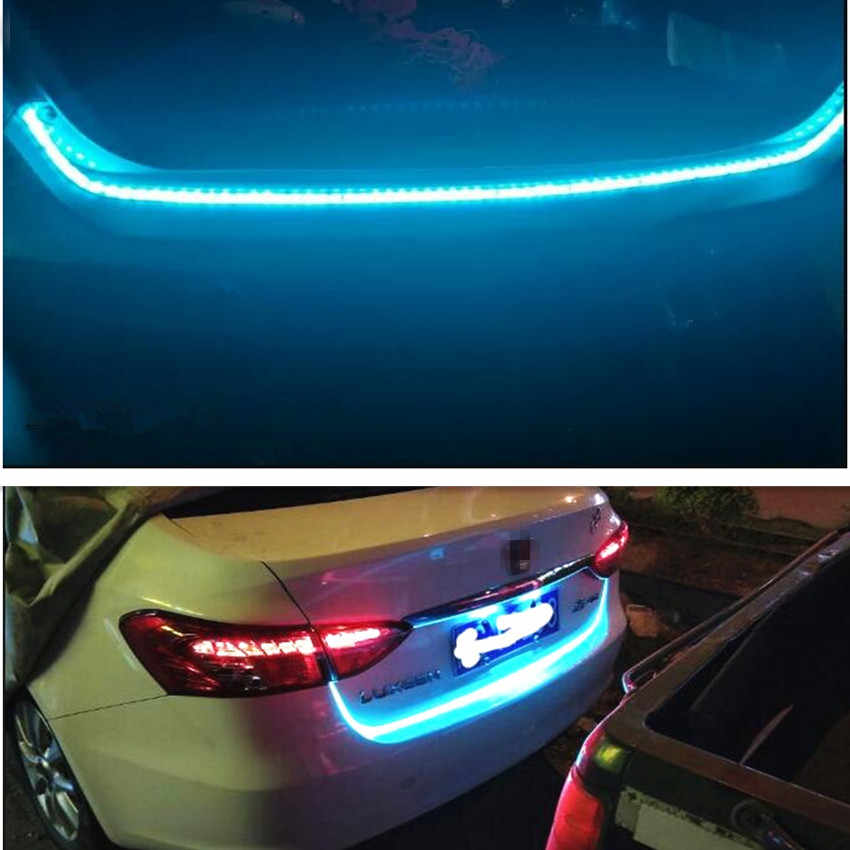 Voiture LED hayon coffre coloré flash lampe pour Toyota Corolla RAV4 Yaris Honda Civic Accord Fit CRV Nissan Qashqai Juke x-trail