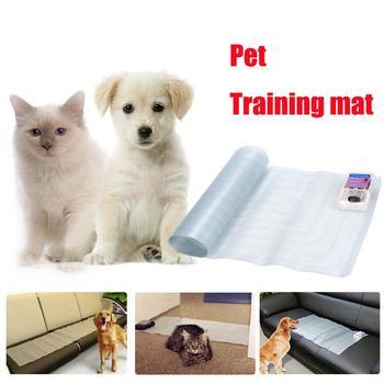 Elektroniczny zwierzak szkolenia Shock Mat meble ochrona psy domowe koty statyczne bezpieczne szkolenia Scat Mat tanie i dobre opinie Z tworzywa sztucznego Pet Training Mat Pet Training Shock Mat