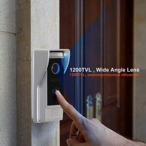 Image 2 - Homefong Video Doorbell Door Phone Doorbell 1200TVL Wide Angle Camera Security Video Intercom Doorbell Picture  Video Recording