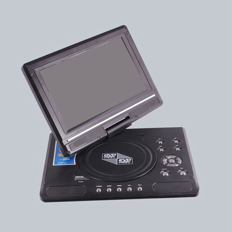 9 8 inch Portable Mobile DVD with HD Mini TV Player
