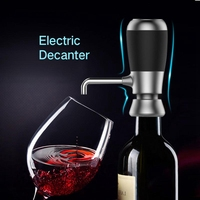 Stainless Steel Electric Wine Aerator Fast Decanter Magic Aerator Pourer Decanter Auto Decanter Dispenser Wine Accessories