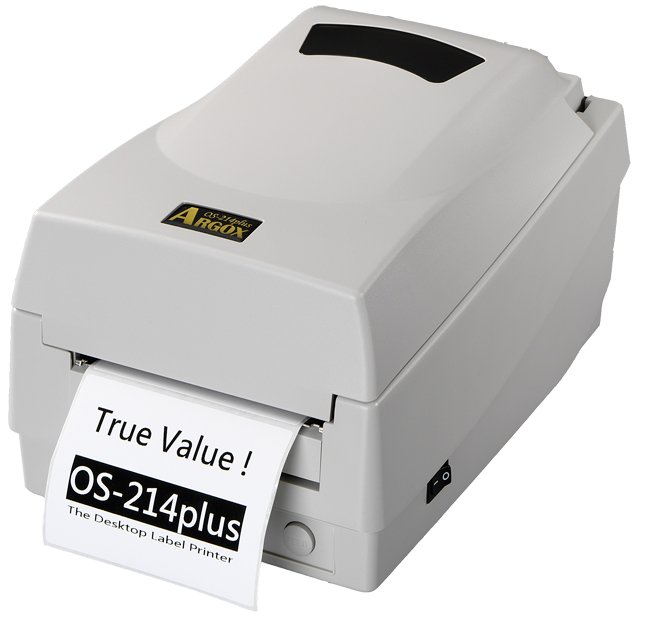 D'origine flambant neuf Argox OS-214plus Barcode imprimante thermique 200 DPI