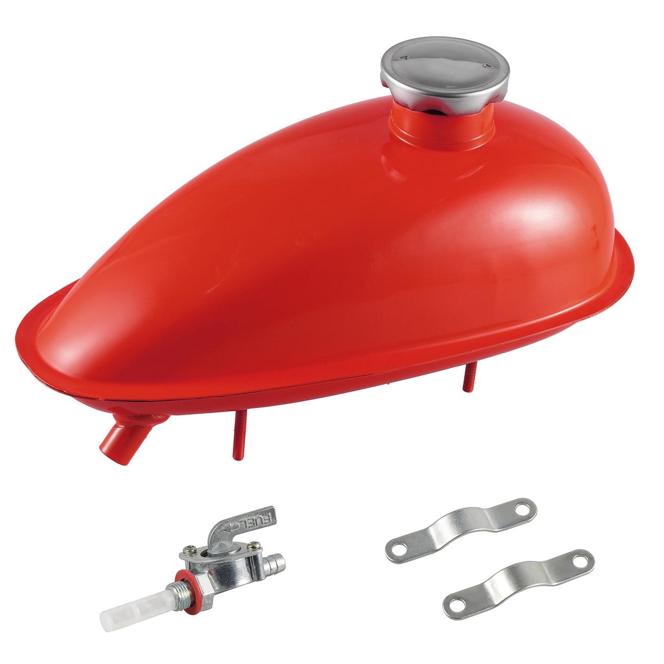 2L réservoir de gaz de carburant 80cc moteur motorisé vélo voiture processus de pulvérisation couleurs pièces
