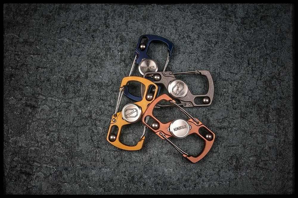 Вымытый Edc Титан четыре дополнительных цвета Спиннер запястья гироскоп от точки пальца взрослых вращательные, антистрессовые игрушки