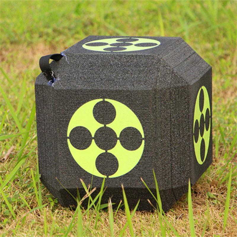Block Foam Dice Archery Target for Compound Recurve Bow Outdoors Hunting