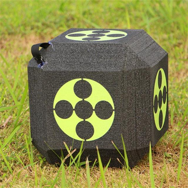 Block Foam Dice Archery Target for Compound & Recurve Bow Outdoors Hunting