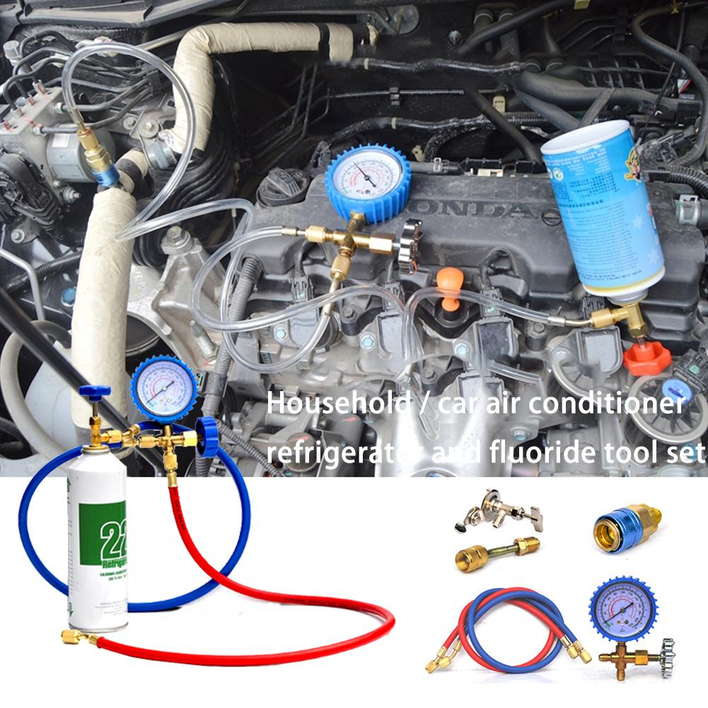 R22 Refrigerant Household Car Air Conditioning Fluoride Adding