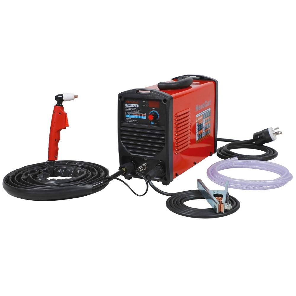 IGBT Plasma Cutter CUT50II CUT50D 190V 250V Arcsonic Plasma cutting machine cutting show