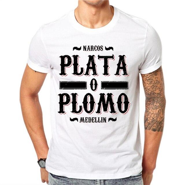 Пабло Эскобар футболка COCA DE COLOMBIA кокаин EL CHAPO сорняки гангстер, мафия, футболка летние модные просторные рубашки топ для мужчин
