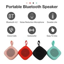 W1 New Portable Speaker Wireless Bluetooth Outdoor Mini Speaker Ultra Small Size Touch Pocket Speaker Support Voice Calls new xiaomi mijia bluetooth computer speaker bluetooth 2 0 led dsp support voice calls for phone tablet pc for xiami smart home
