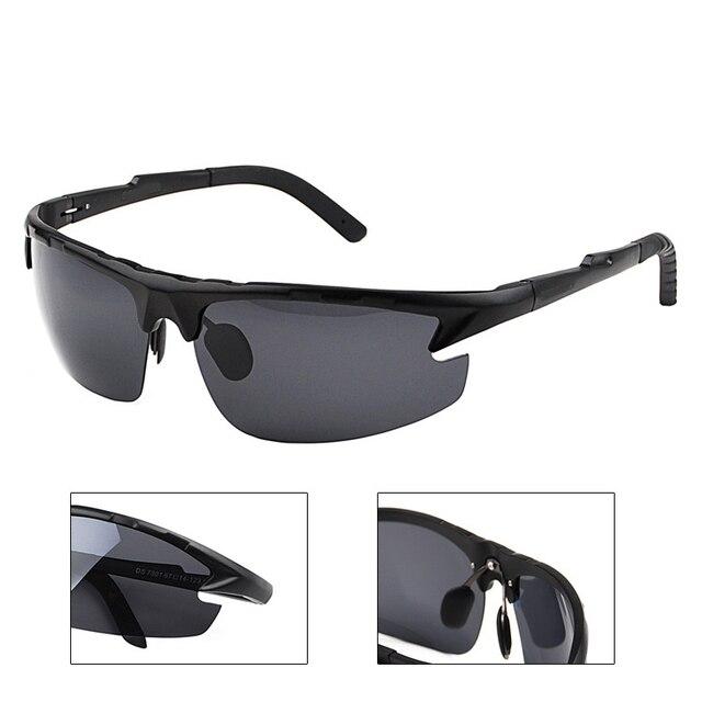 7029f09700 2017 New pattern Magnesium aluminum alloy Outdoor sport Men polarized sun  glasses UV400 polarized sunglasses driving
