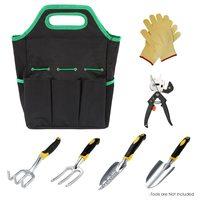 600D Garden Tool Bag Tool Storage Bag Organizer for Garden Tool Foldable Storage Bag Pouch