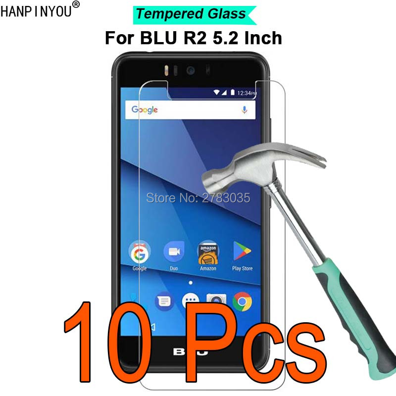 10 Pcs/Lot For BLU R2 LTE 5.2 9H Hardness 2.5D Ultra-thin Toughened Tempered Glass Film Screen Protector Protect Guard image