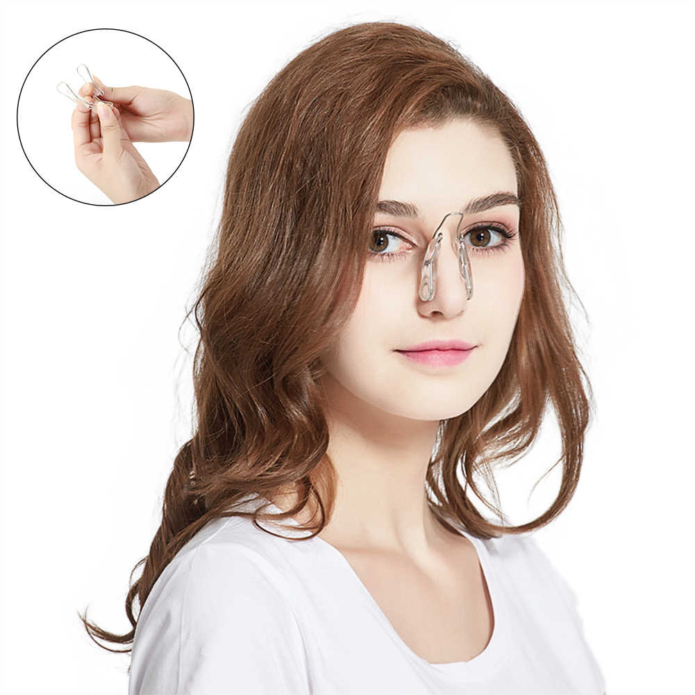 Siliconen Neus Beauty Clip Neus Lifting Bridge Straightening Beauty Neus Clip