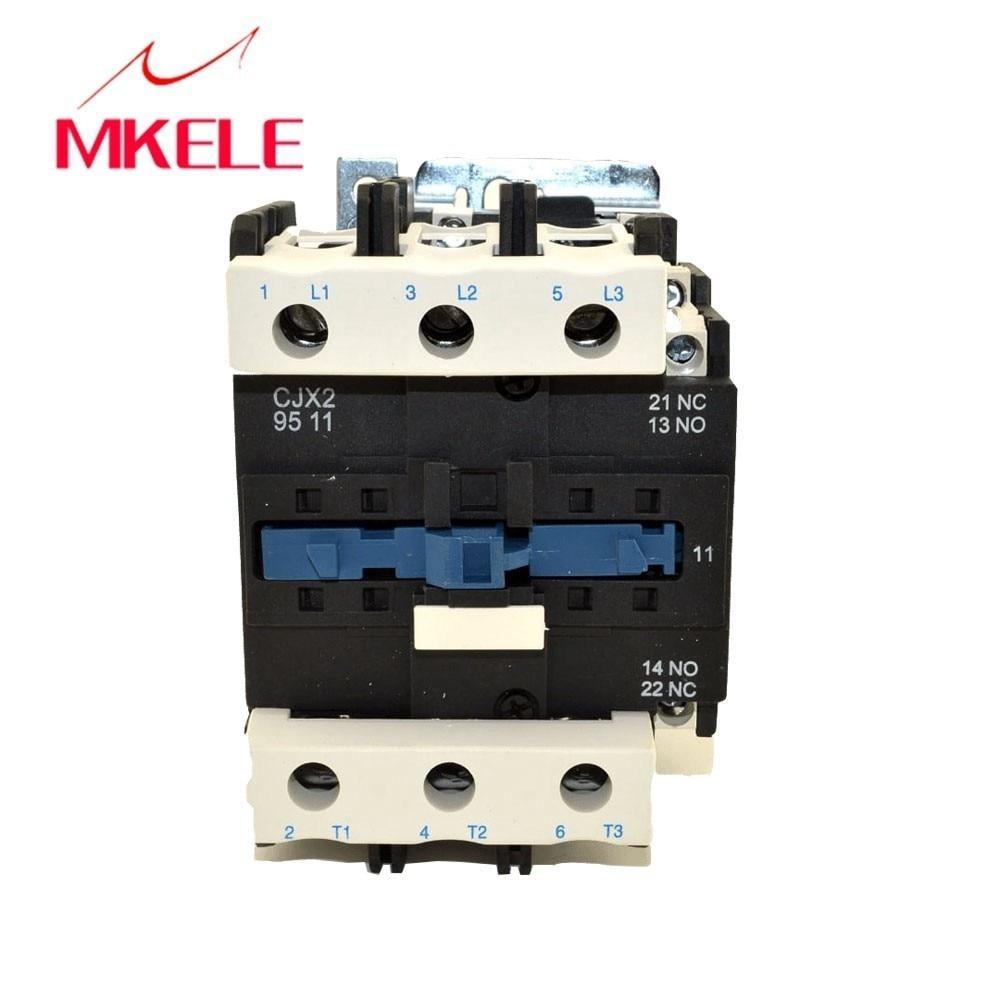 US $70 46 14% OFF|magnetic contactor LC1 D9511 M7C 3P+NO+NC contactor  telemecanique types of ac magnetic contactor 95A 220V coil voltage-in  Contactors