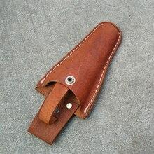 Кожаный инструмент в ножнах кобуры ремень держатель сумка для плоскогубцев секатор США