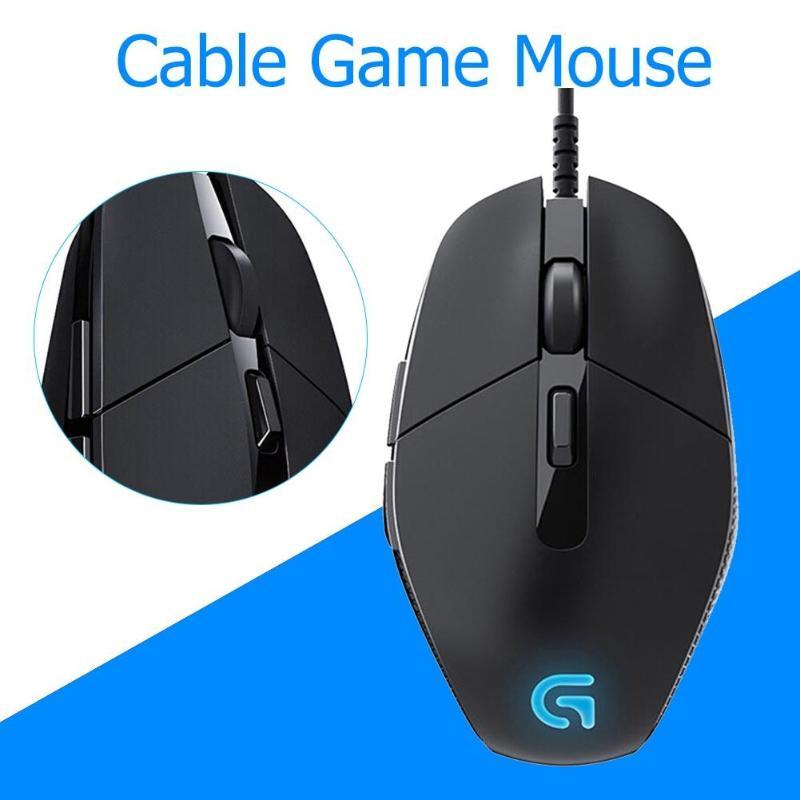 Souris de jeu Logitech G302 Daedalus Prime MOBA 6 boutons souris filaire 4000 DPI pour souris de jeu d'ordinateur PC