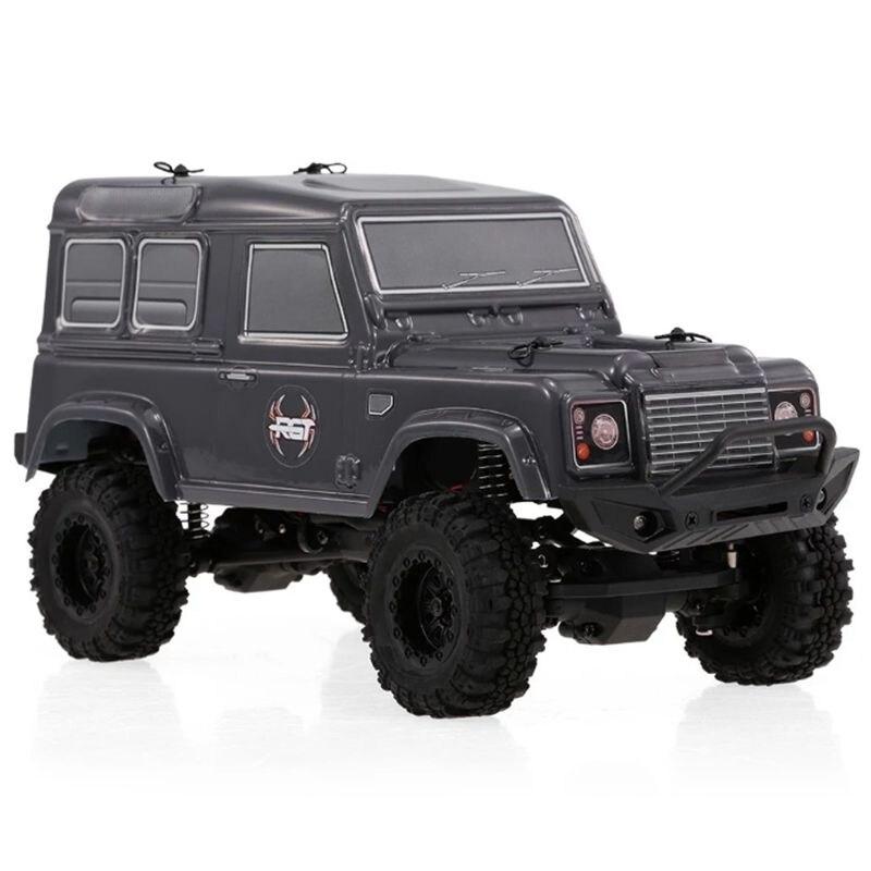 RGT RC Crawlers 1/24 échelle 4wd hors route voiture RC 4x4 mini camion tout-terrain RTR Lipo Rock aventurier sur chenilles D90 avec lumières