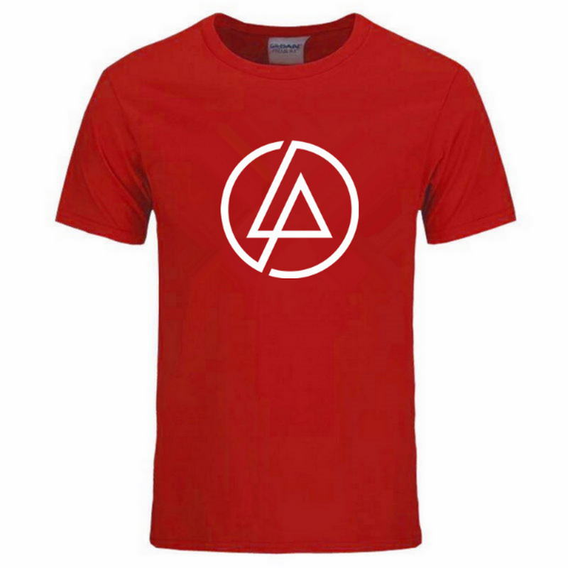2019 Summer Fashion Men T Shirt Lincoln LINKIN Park T Shirt Cotton Linkin Brand Clothes Short Tops Tees in T Shirts from Men 39 s Clothing