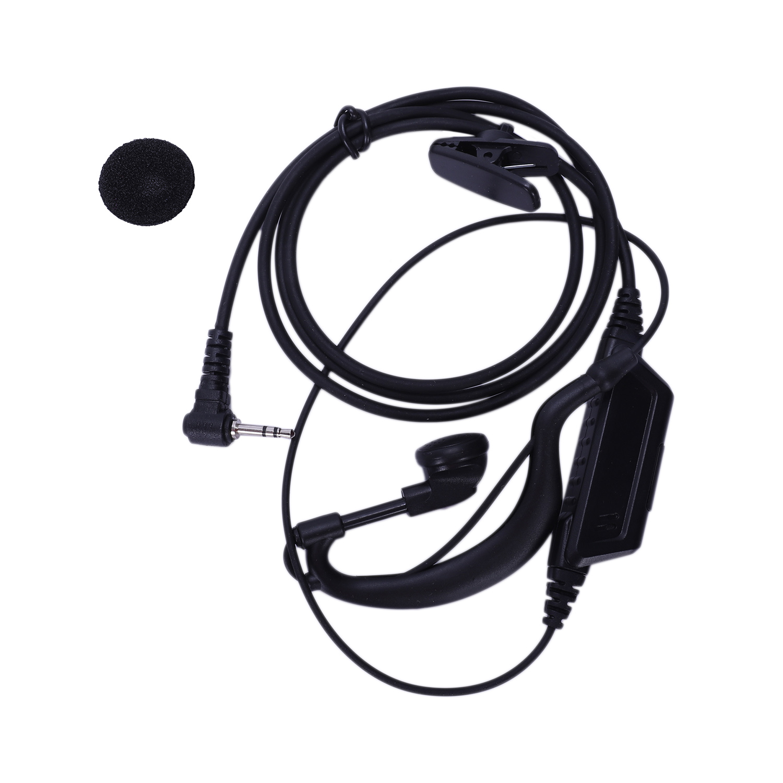 T5620 Tyt Th 2r T6 T5 T7 T8 3r Walkie Talkie Großen Ptt 2,5 Mm Jack Kopfhörer Für Motorola T5428 Hytera Tc310 Tc320