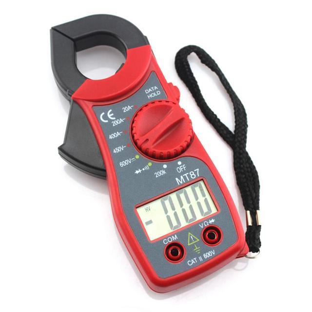 Digital Clamp Ammeter Multi meter With Measurement AC/DC Voltage Tester Current
