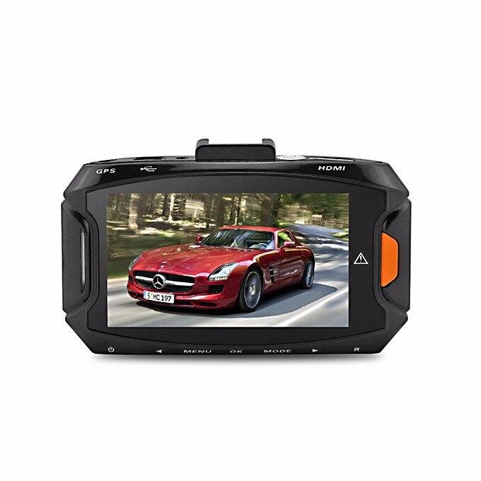 2.7 pouces Ambarella A7 LA50 voiture DVR FHD 2560*1080 P GS90A caméra de tableau de bord 170 degrés H.264 GPS & g-sensor 30fps 5.0 MP Style de voiture