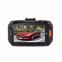 2.7Inch Ambarella A7 LA50 Car DVR FHD 2560*1080P GS90A Dash Camera 170 Degree H.264 GPS & G sensor 30fps 5.0 MP Car Style